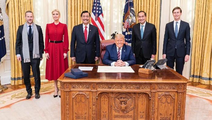 Luhut Bertemu Donald Trump Di Gedung Putih