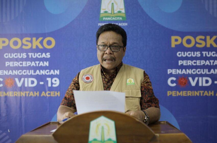 Angka Kesembuhan Pasien Covid-19 Di Aceh Meningkat