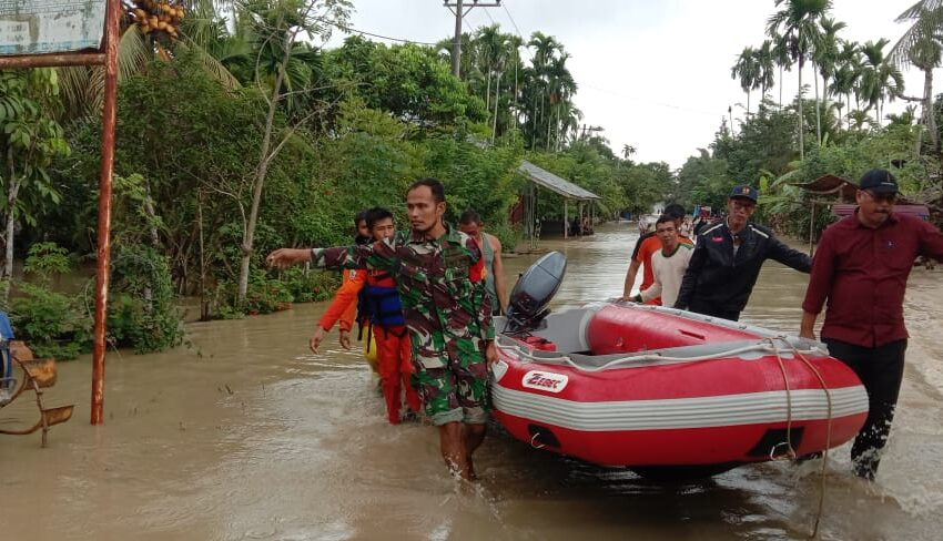 Ribuan Warga Aceh Utara Mengungsi Akibat Banjir