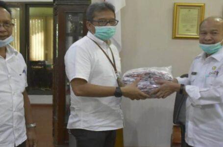 Tamiang Terima 10 Ribu Masker Dari Kementerian Kesehatan RI