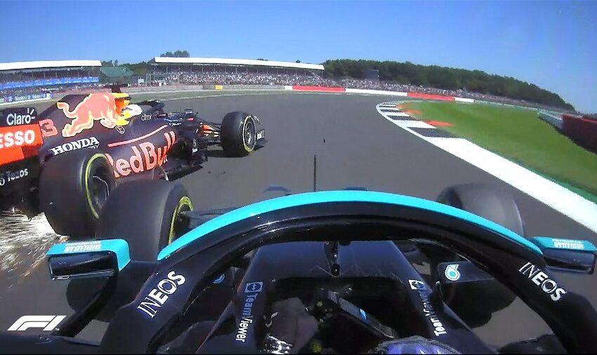 Max Verstappen dan Lewis Hamilton Alami Kecelakaan di Sirkuit Silverstone