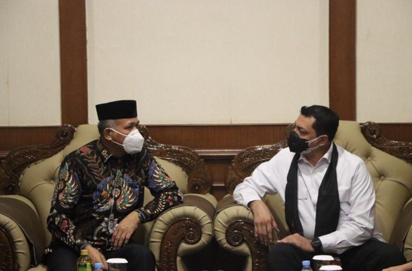 Kapolda Aceh, Irjen Pol Ahmad Haydar Disambut Oleh Gubernur