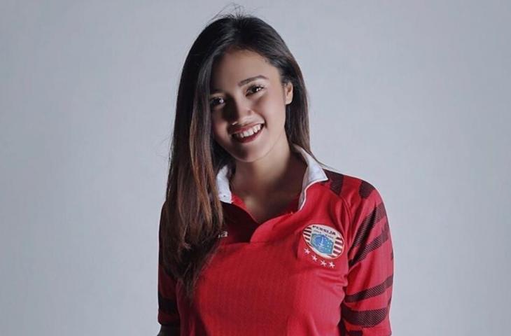 Jess Amalia, Model Majalah Dewasa yang Menjadi Fans Berat Persija