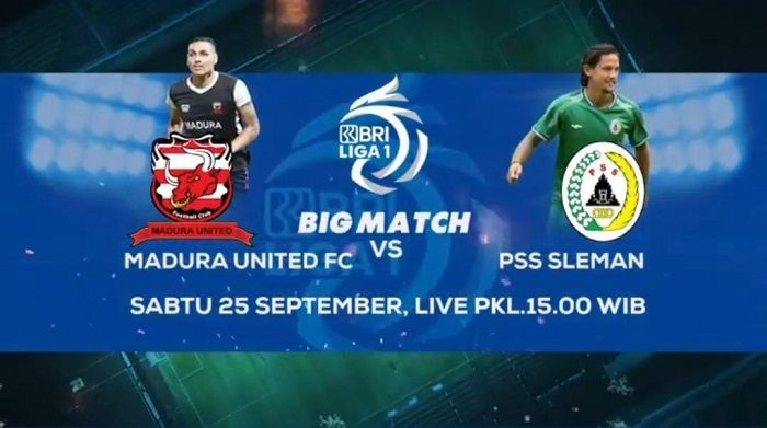 Link Live Streaming Madura United vs PSS Sleman Pukul 15.00 WIB, Cek Disini