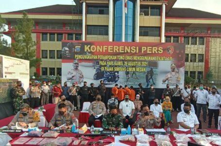 Senjata Api Untuk Merampok Toko Mas di Medan, Ternyata Dibeli Dari Aceh