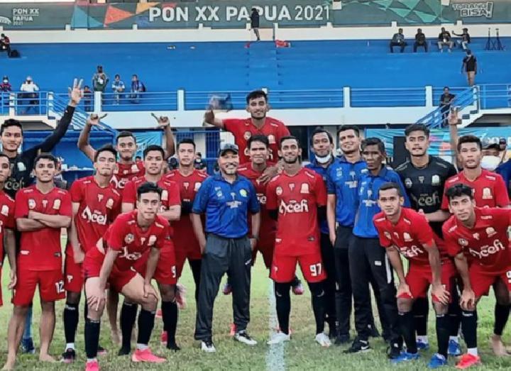 Besok, Aceh vs Papua Berhadapan Final Sepak Bola PON Papua 2021