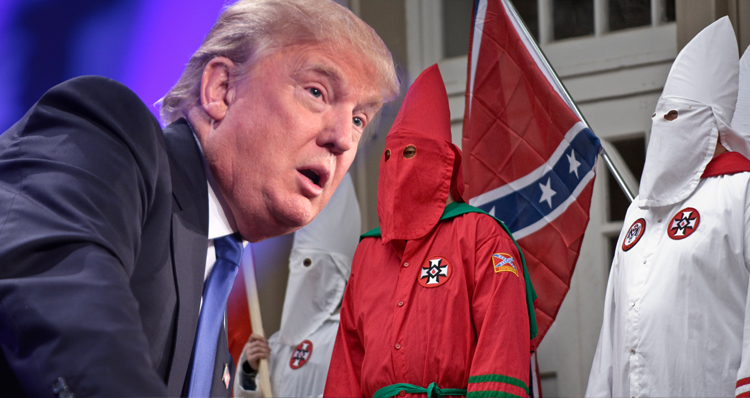 Image result for trump klan
