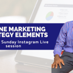 Online Marketing Strategy Elements: Excerpt from Instagram Live session