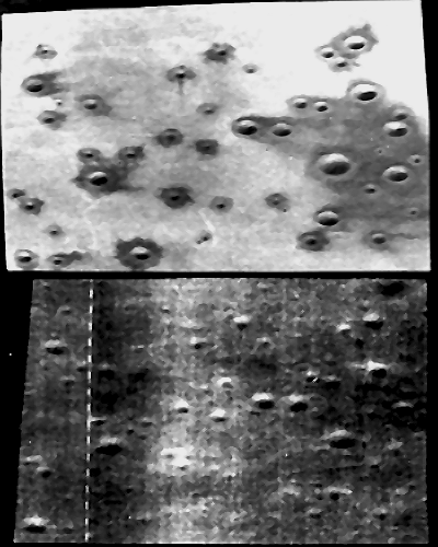 Crater field #1 was designed to simulate Apollo 11 landing site taken from Lunar Orbiter images