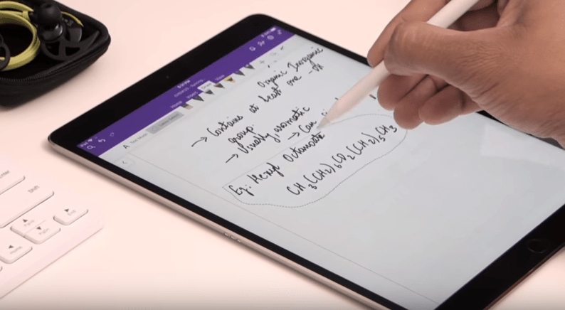 Video: OneNote + iPad Pro + Pencil = Awesome