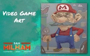 Mario illustration