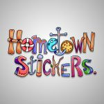 hometown stickers logo