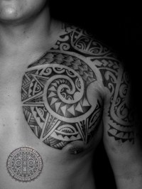 Mixed Polynesian at Kulture Tattoo