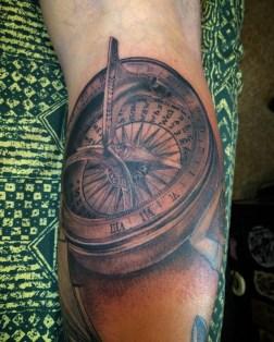 Compass detail in progress