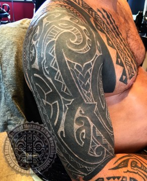 White on Black Tattooing