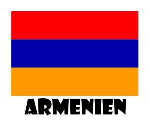 Flagge Armenien