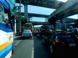 Großstadtverkehr in Bangkok