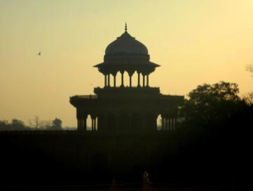 Nebengebäude des Taj Mahal