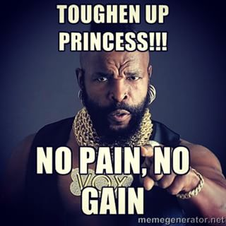 Toughen Up Startups ! - Mr T - Samuel Pavin Group