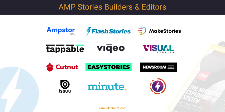 AMP Stories Builders and Editors Landscape