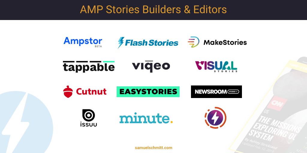 Best AMP Stories builders
