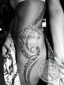 Tahitian Tattoo, Polynesian Tattoo