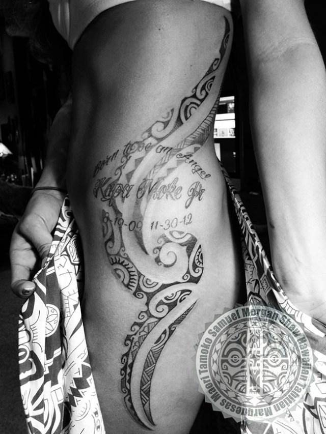 Tahitian Tattoo, Polynesian Tattoo