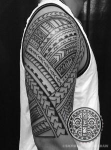 Samoan Tattoo by Samuel Morgan Shaw