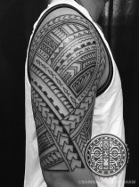 Samoan Tattoo by Samuel Morgan Shaw