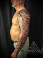 Freehand Tattoo by Samuel Shaw