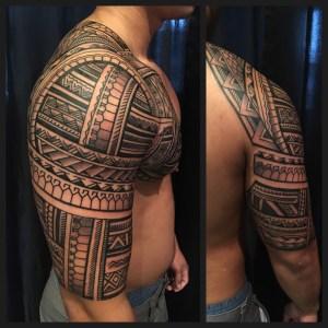 Filipino Tattoo by Samuel Morgan Shaw