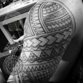 Polynesian tattoo