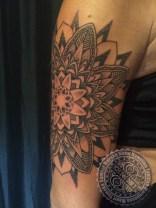 Dot work tattoo Kauai Hawaii