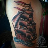 Cutter ship tattoo