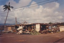 Destroyed by hurricane Iniki Sept 11 1992 2