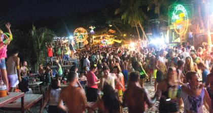 safety full moon party phangna