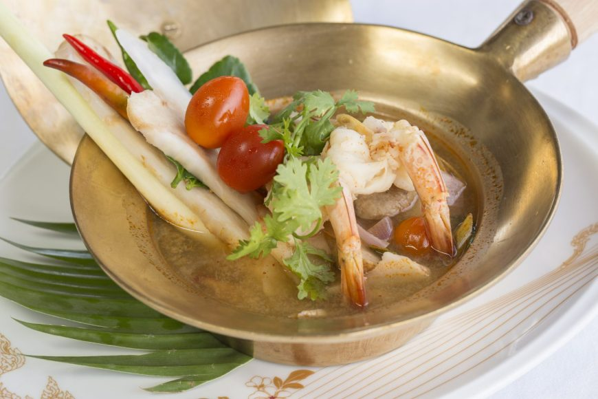 Top 10 Thai food - Tom Yum (Spicy Soup)
