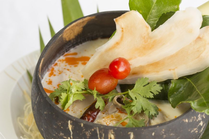 Top 10 Thai food - Tom Kha Kai (Chicken in Coconut Soup)