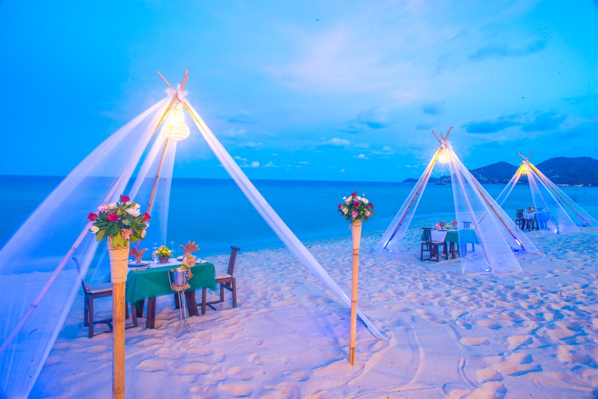 The Beach Club Romantic Dining