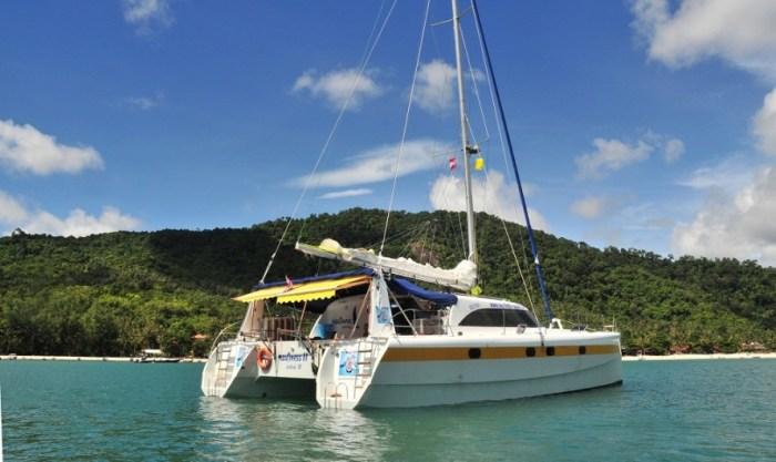 Sailing Catarmaran