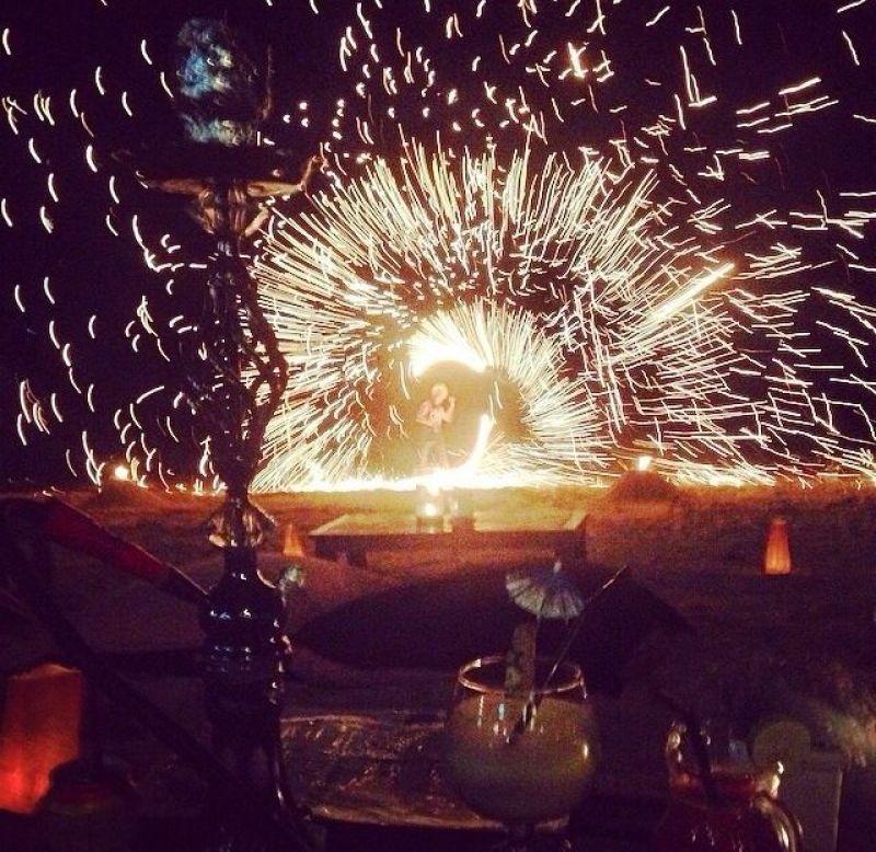 fire spinnner shisha