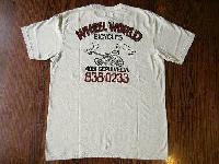 ダブルワークス Tシャツ WHEEL WORLD