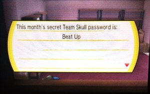 The first password tells about the Boss' favorite move.