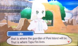 Trainer Encounters inUltra Sun and Moon Poni Island
