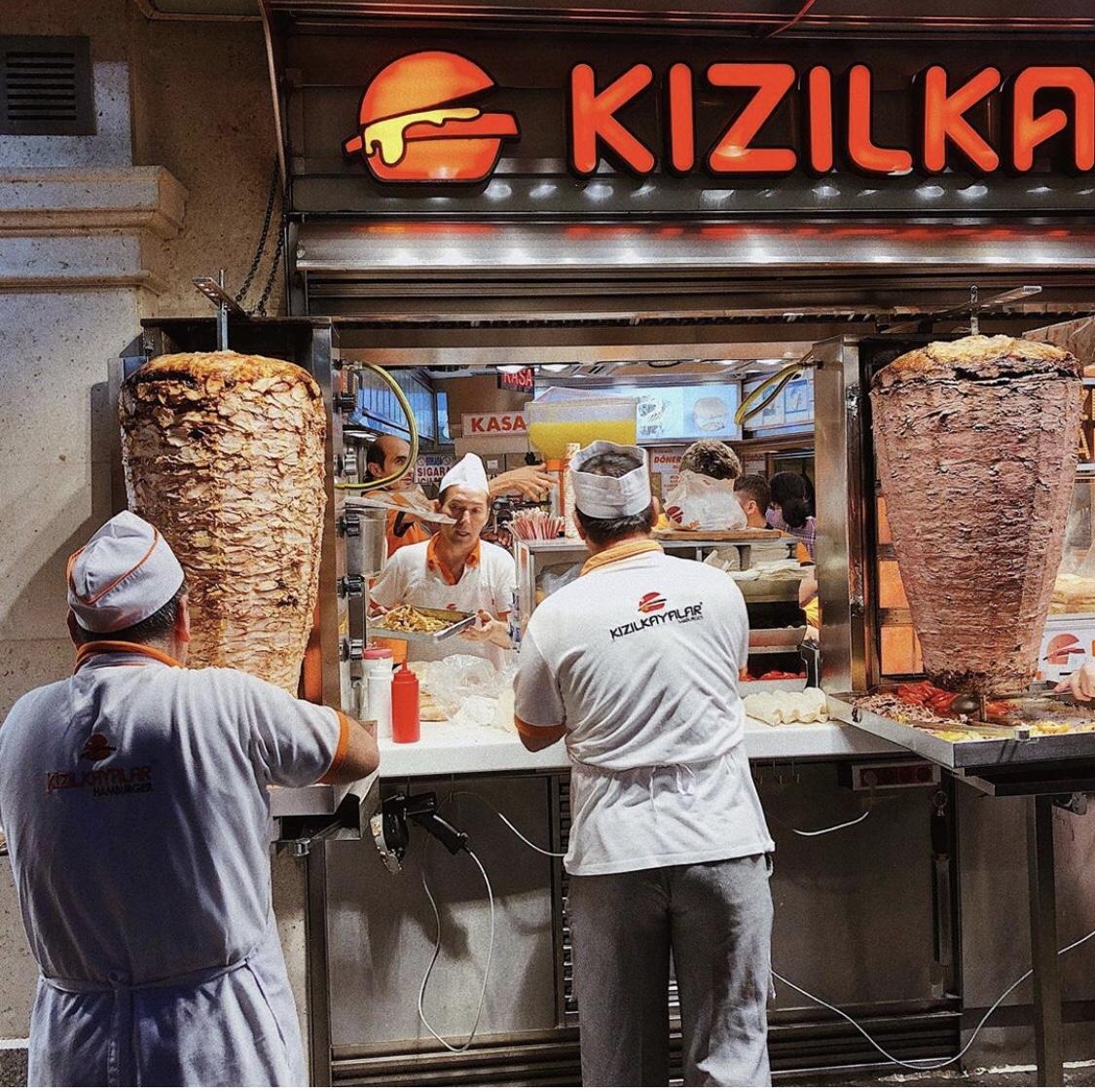 Doner Kebab Turkish Street Food Samurai Gourmet
