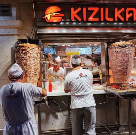 Turkish Food, Istanbul, Turkey, Street food