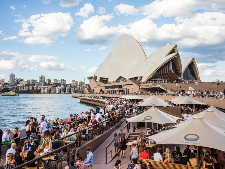 OPERA BAR SYDNEY AUSTRALIA'S MOST ICONIC BAR