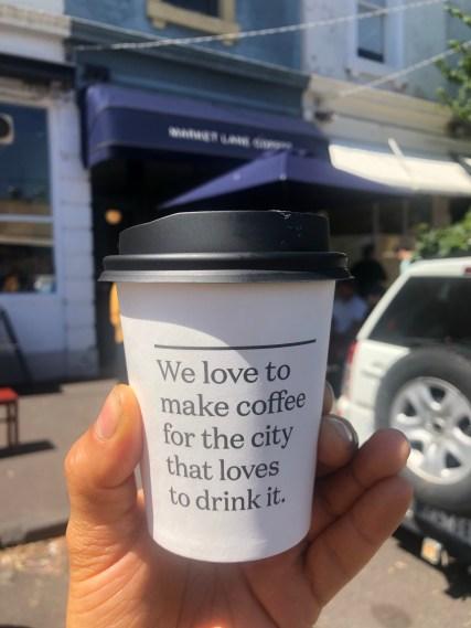 MARKET LANE COFFEE IN MELBOURNE