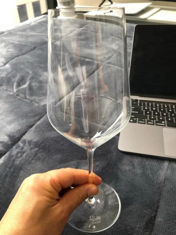 BEFORE STARTING DRINKING WINE
