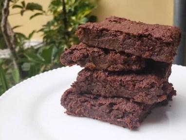Brownies de batata sin harina